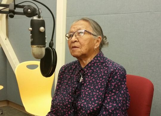 Recording in Crow Agency with Margo Real Bird from July 2015. Margo shared stories about her 25 years teaching elementary school, her life raising three children (and now grandchildren), and the craftsmanship she enjoys, like making elk tooth dresses.